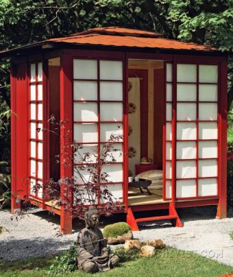 3967-Japanese Tea House Plans