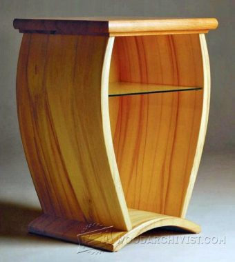 3971-Making Curved Wood Panels for Furniture