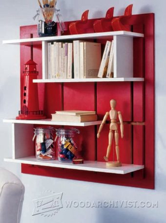 3980-DIY Wall Shelves