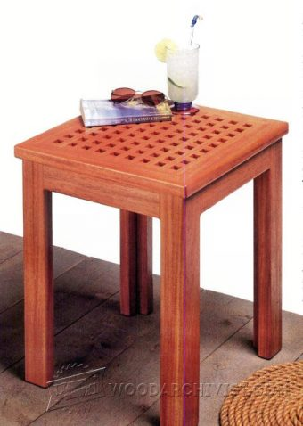 3981-Deck Table Plans
