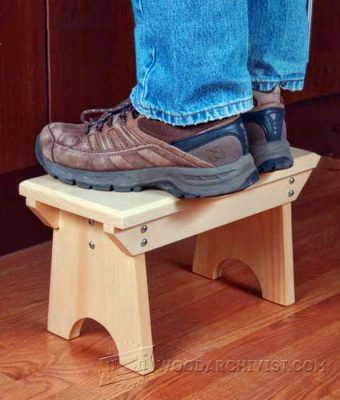 3986-Foot Stool Plans