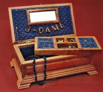 3987-Jewelry Chest Plans