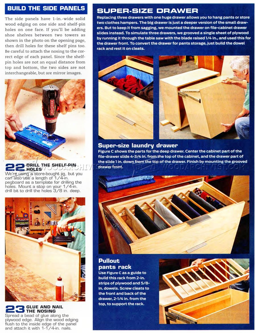 DIY Clothes Storage Space