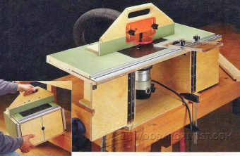 3989-Benchtop Router Table Plans