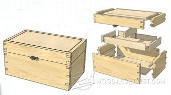 3991-DIY Jewellery Box