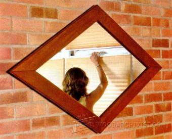 3992-DIY Mirror Frame