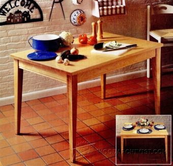 3993-Kitchen Table Plans