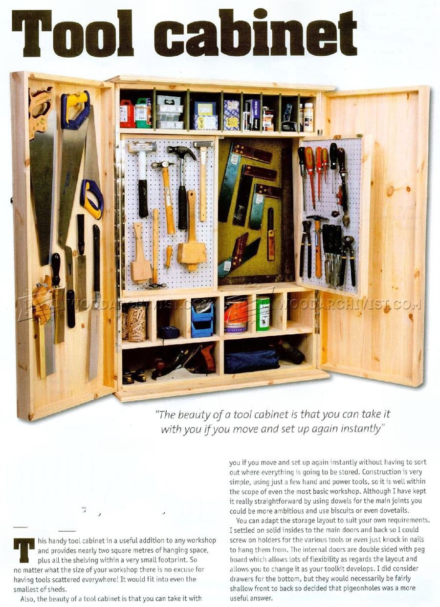 Building a Tool Cabinet