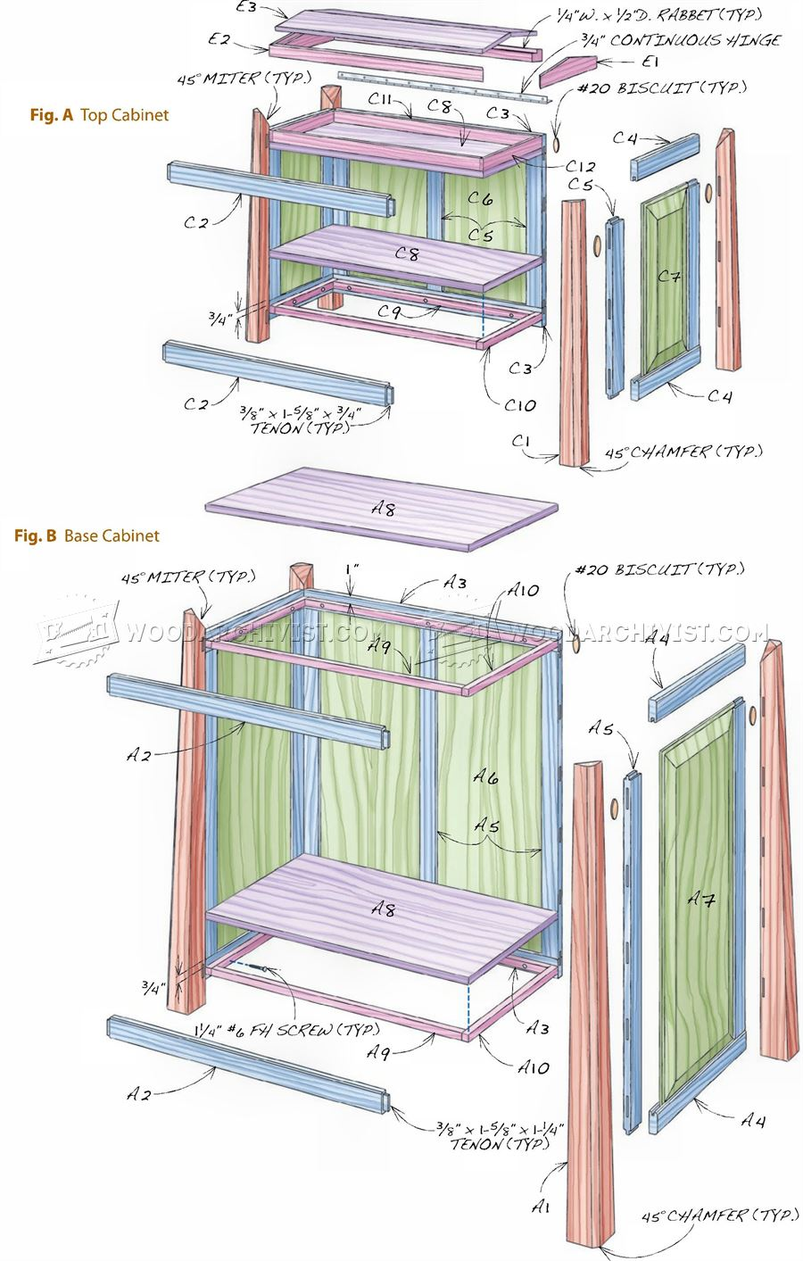 Tool Storage Cabinet Plans