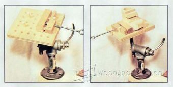 4004-Wood Carving Vise Plans