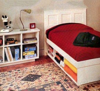 4005-Kids Bedroom Furniture Plans