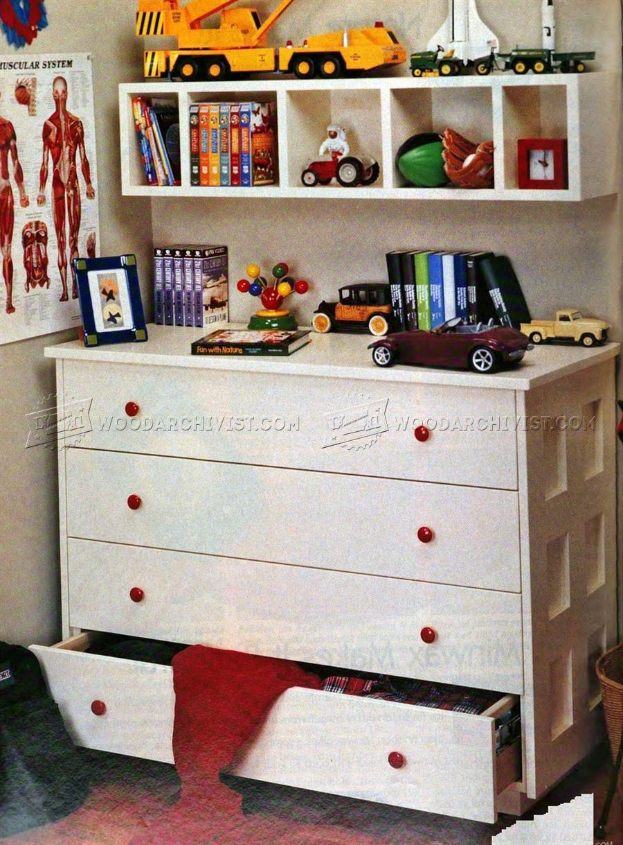 Kids bedroom furniture plans woodarchivist - Woodworking plans bedroom furniture ...