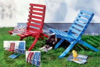 4007-Folding Outdoor Chair Plans