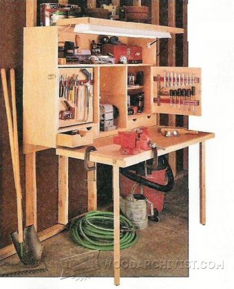 4009-Garage Workbench Plans