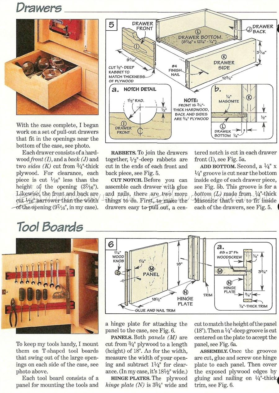 Garage Workbench Plans