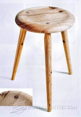 4011-DIY Three Legged Stool