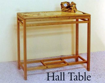 4016-Hall Table Plans
