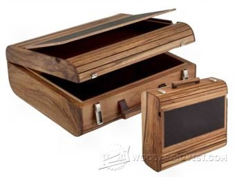 4018-DIY Wooden Attache Case