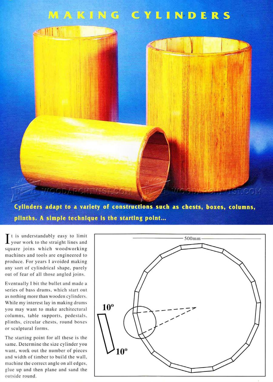 Making Wood Cylinder