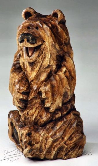 4022-Bear Carving – Wood Carving Patterns