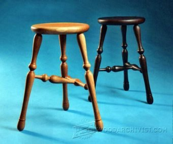 4024-Three Legged Stool Plans
