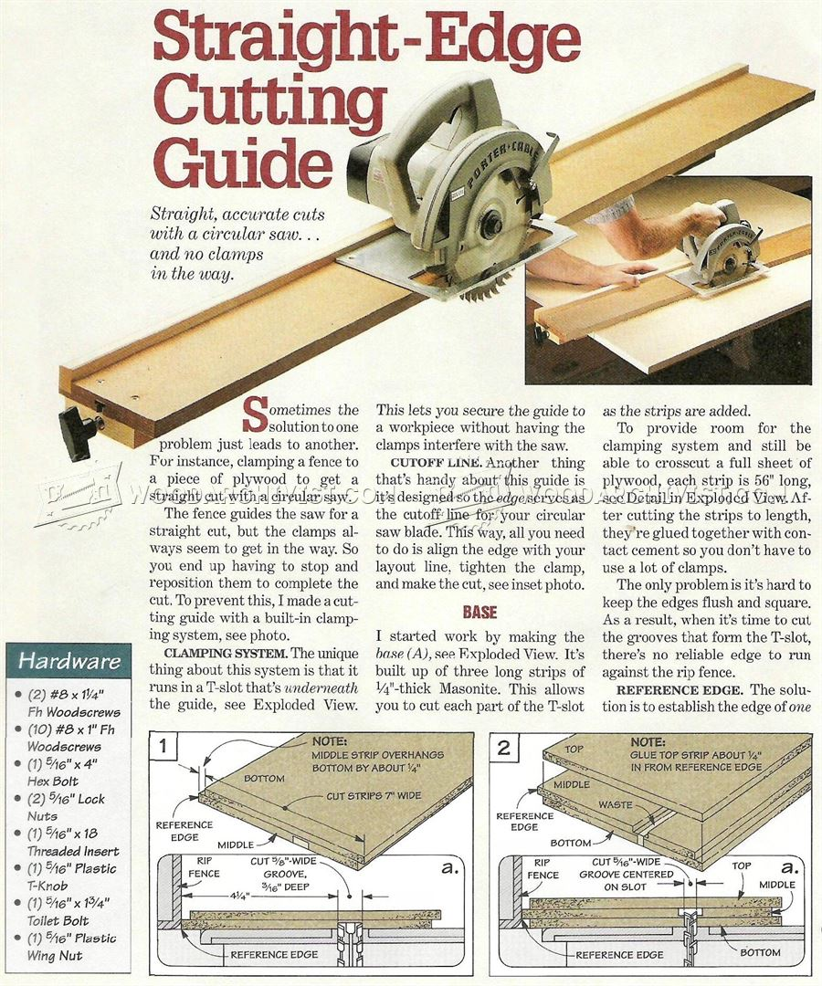 Skil Circular Hand Saw Manual Guide