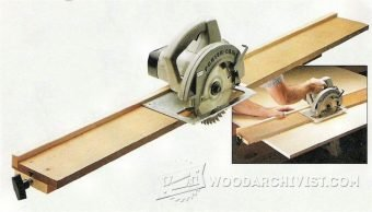 4029-DIY Circular Saw Guide