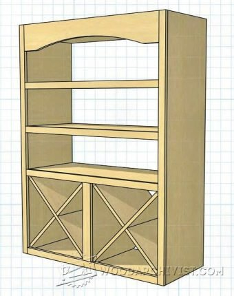 4031-Bathroom Towel Rack Plans