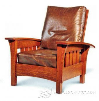 4032-Classic Morris Chair Plans