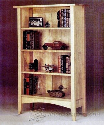 4033-Anniversary Bookcase Plans