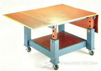 4035-Woodworking  Assembly Table Plans