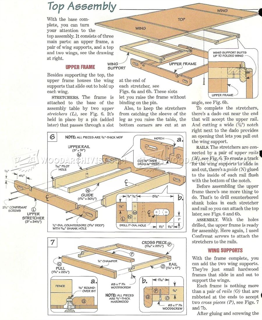 Woodworking Assembly Table Plans