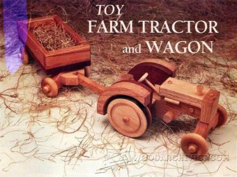 4036-Wooden Toy Tractor Plans