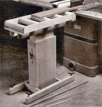 4039-Wooden Roller Stand Plans