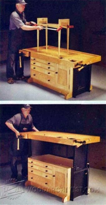 4041-Adjustable Workbench Plans