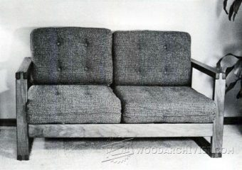 4043-DIY Loveseat