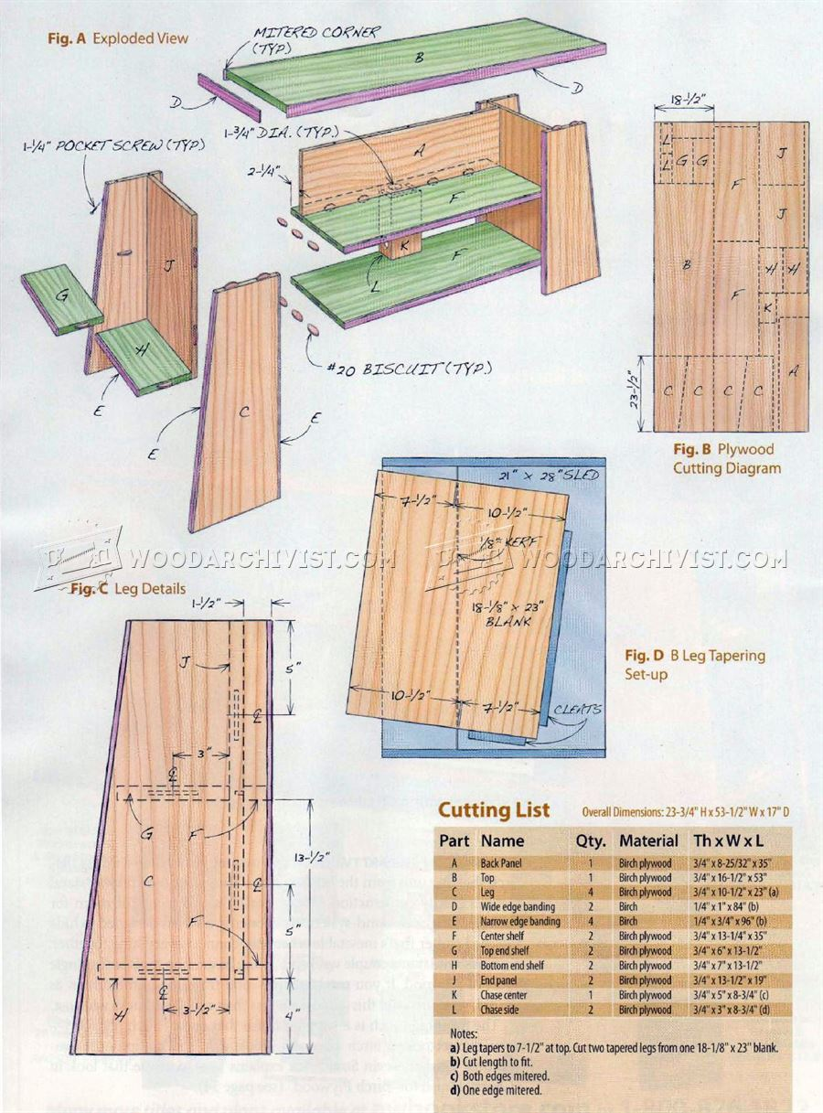 TV Stand Plans