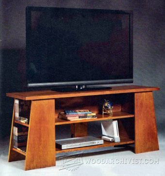 4048-TV Stand Plans