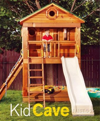 4054-Backyard Playhouse Plans