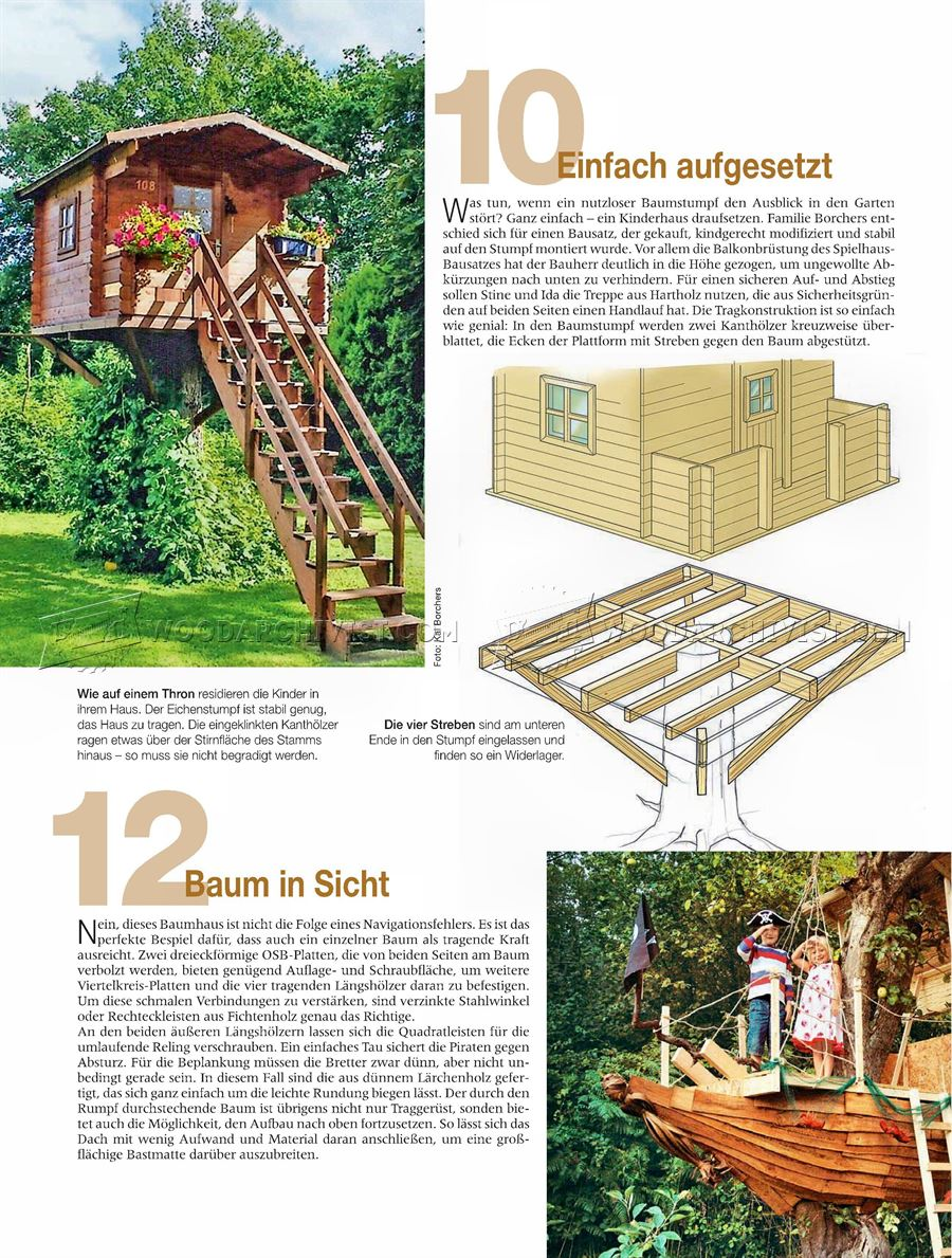 DIY Treehouse
