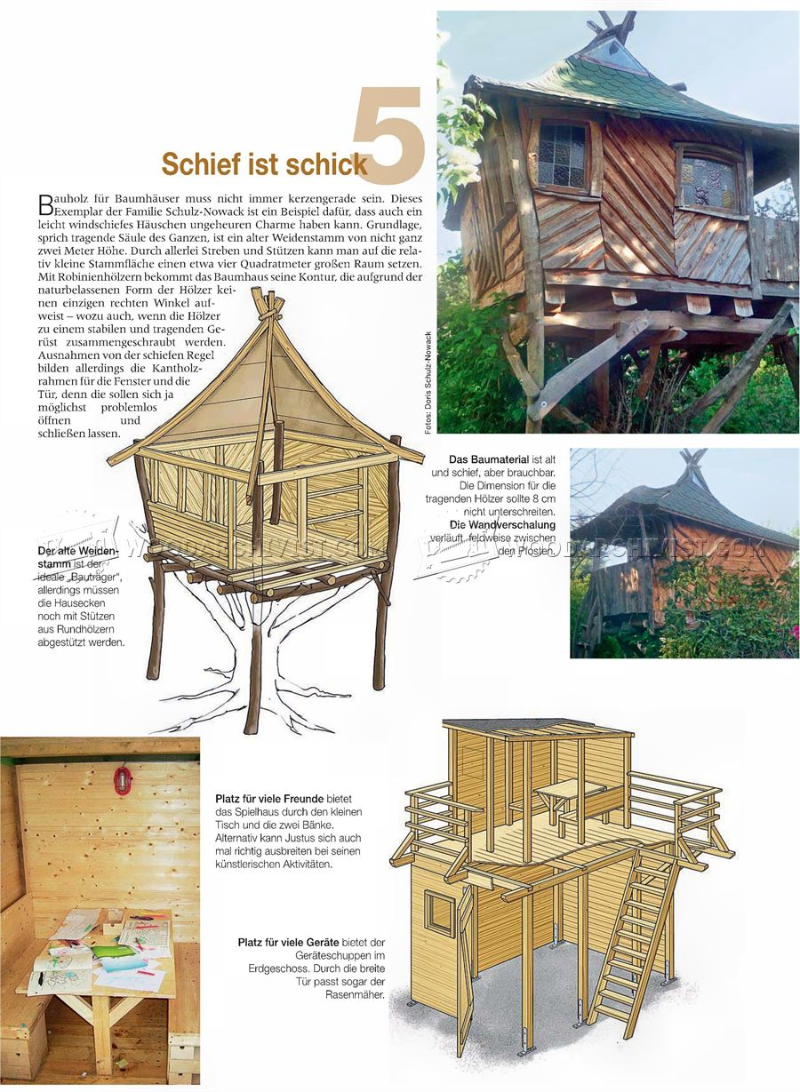 DIY Treehouse • WoodArchivist