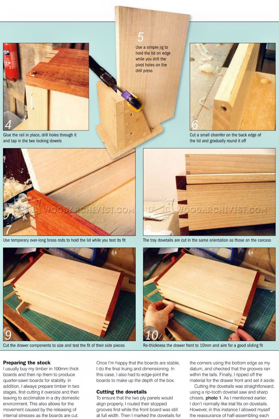 DIY Jewellery Box