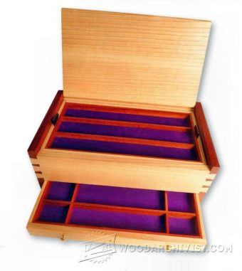 4062-DIY Jewellery Box