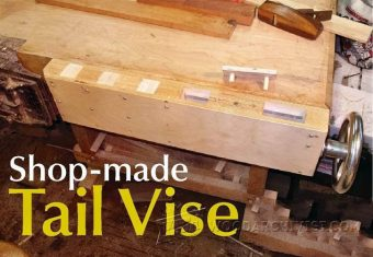 4064-Shop Made Tail Vise
