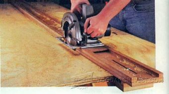 4065-DIY Circular Saw Guide